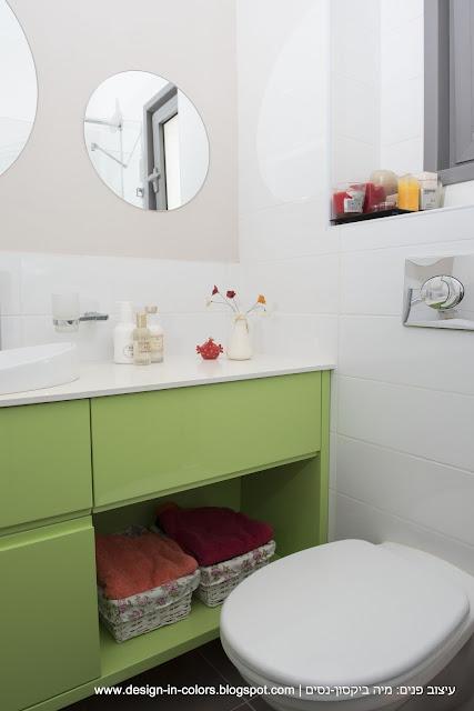 עיצוב חדר רחצה קטן