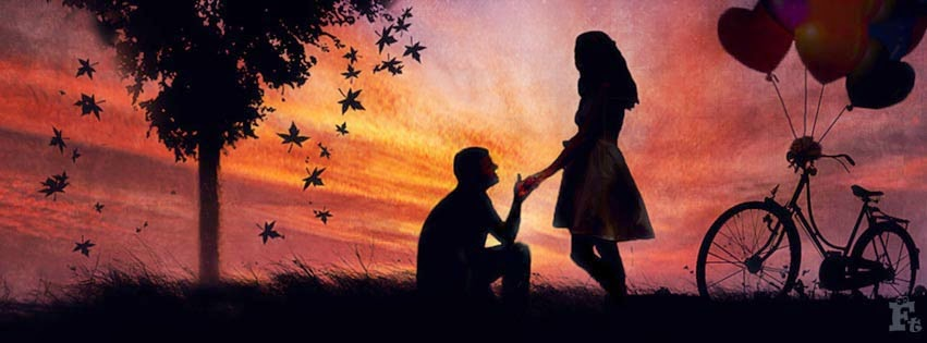 Girl Proposing A Boy Wallpapers Facebook Timeline Cover Boy Propose To Girl Covers Heat