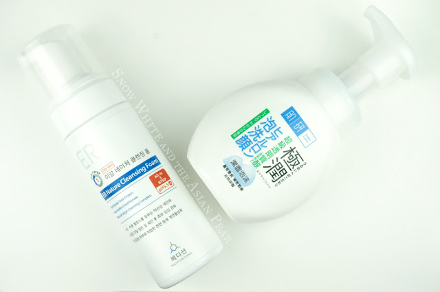 Medicean Foaming Cleanser, Hada Labo Foaming Pump