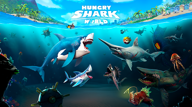 Game Android Hungry Shark World Mod Apk Terbaru