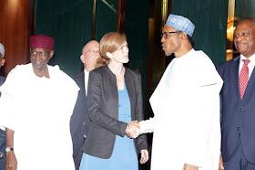 Pre. Buhari and AmB Samantha