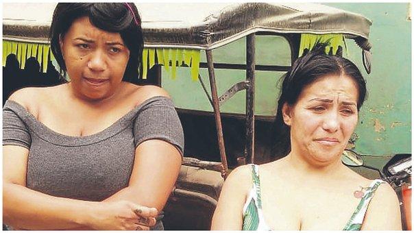 Dos venezolanas detenidas por robar ropa en un Centro Comercial del Perú