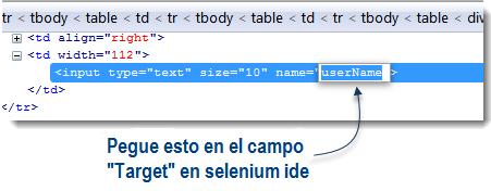 Script manual en Selenium IDE