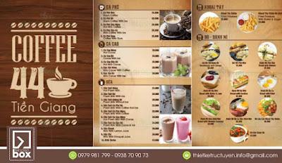 MENU CAFE | CÁCH THIẾT KẾ, LÀM MENU CAFE
