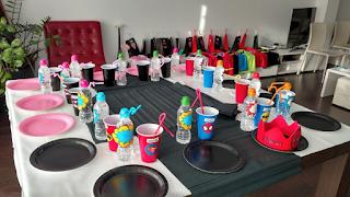 decoración mesa fiesta superhéroes