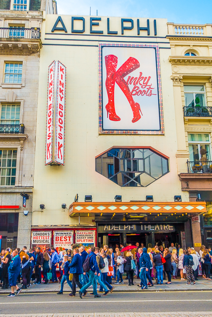 Kinky Boots Aldephi Theater London England