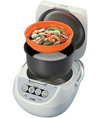 5.5-Cup Tiger Rice Cooker - JBV-A10U