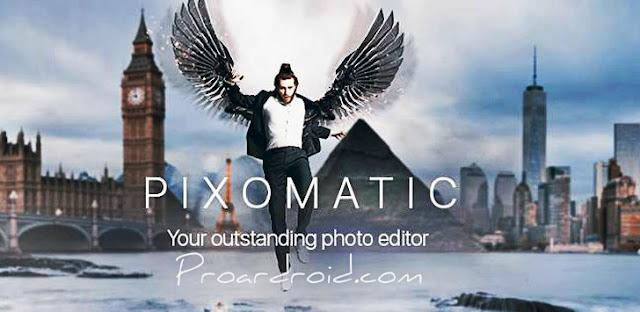 تطبيق Pixomatic photo editor v1.0.2 لتعديل ومعالجة الصور مدفوع مجانا للاندرويد