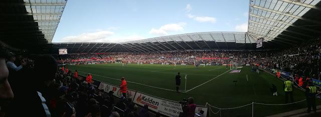 Inside the Liberty Stadium