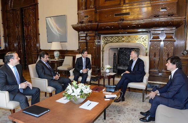 PSA le anunció al Presidente Macri una inversión de 320 millones de dólares
