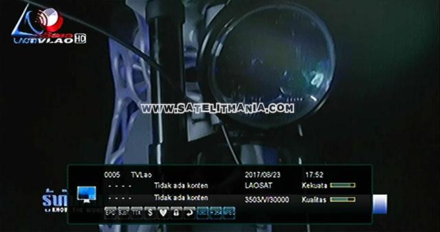 Inilah Daftar Channel dari Satelit Laosat 1 C Band