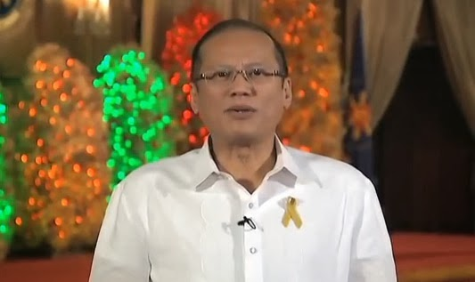 President Aquino New Year Message 2014