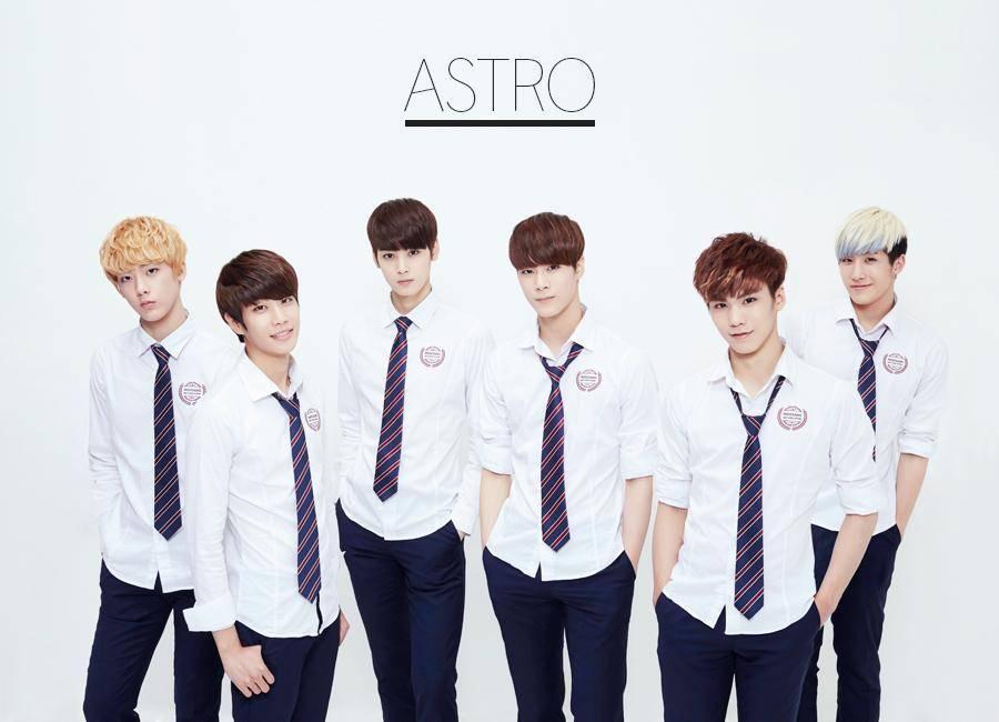 "Paper Heart Profil Biodata Dan Fakta Boyband Astro ̕""스트로"