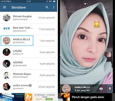 Unduh Foto dan Video di Stories Instagram