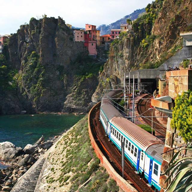 Viagens de trem em Pisa e em toda a Itália
