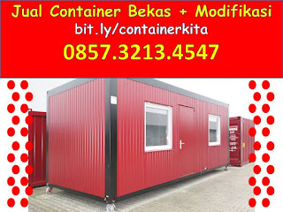 0857.3213.4547 Jual container office di surabaya