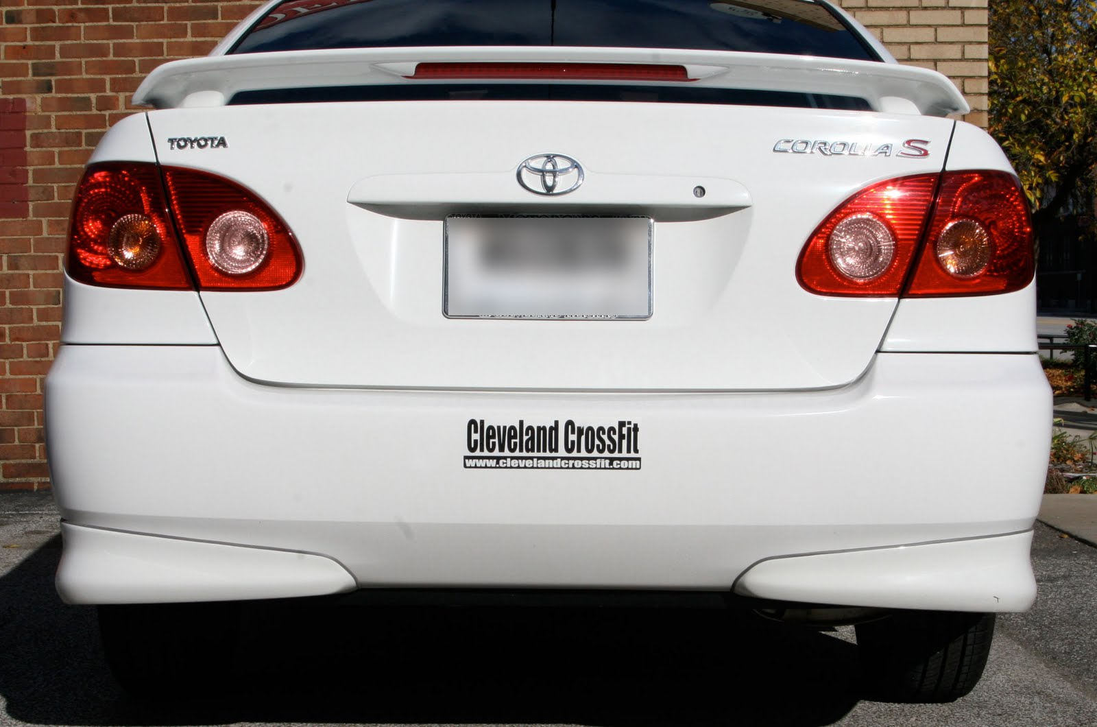 Car Stiker: Bumper Sticker- Toyota Corolla Sticker-Best