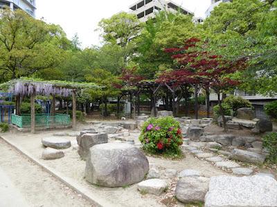 下福島公園 藤庵の庭