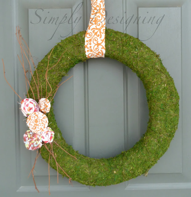 wreath+09 Spring Moss Wreath 30