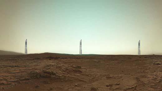 marte%2Btorres%2Balienigenas 2 Misteriosamente NASA censura las supuestas torres alienigenas visibles en la superficie de Marte
