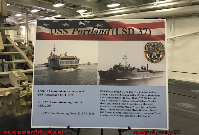USS Portland LPD 27 Commissioning in Portland