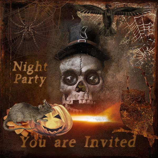 NEW..... HAUNTING NIGHT ADDON  by  DUTCH DREAM DESIGNS