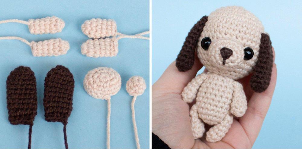 Amigurumi Dog Keychainbag Charm Pattern Amiguroom Toys
