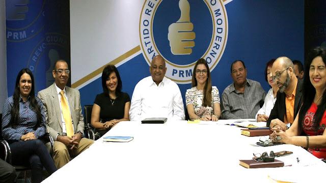 PRM inicia programa de movilizaciones sociales simultáneas este sábado