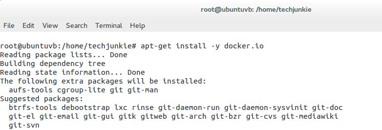 apt-get install command on Ubuntu Linux