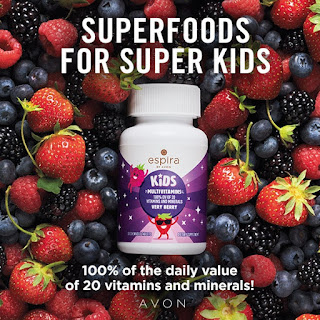 Multi-Vitamins for Kids in pile of berries