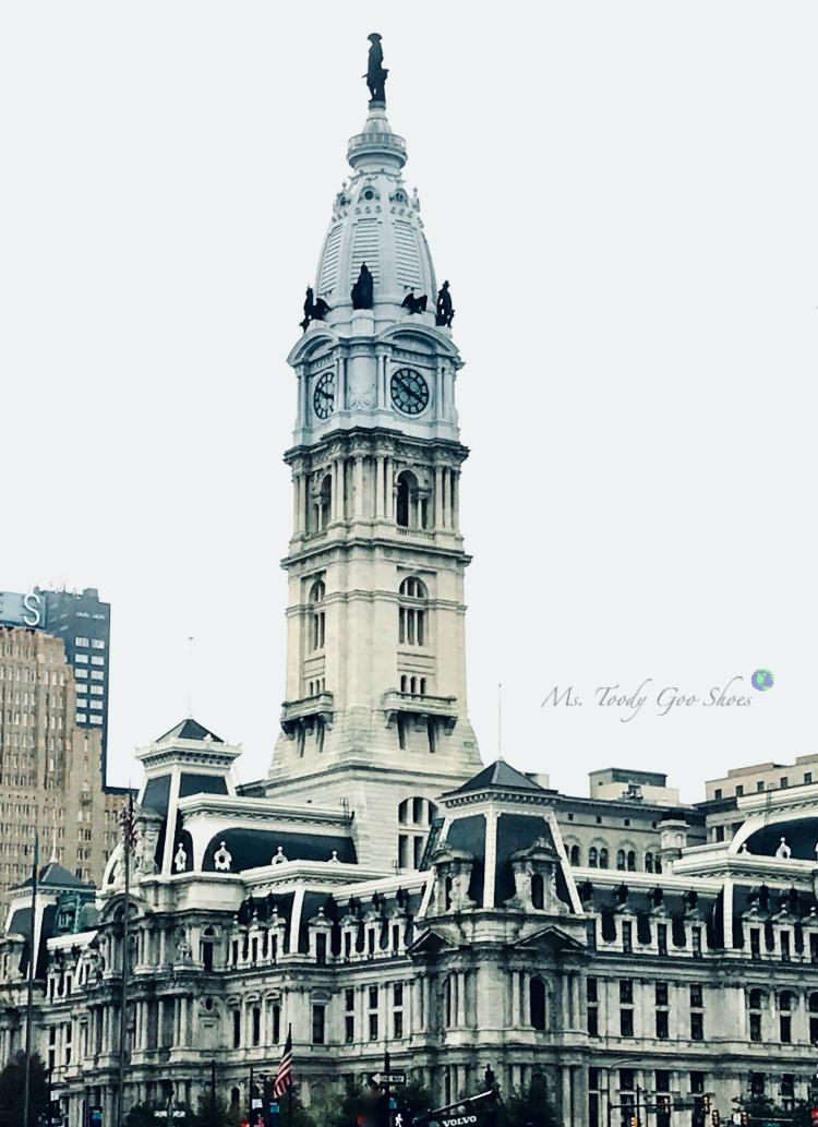 Philadelphia City Hall | Ms. Toody Go Shoes