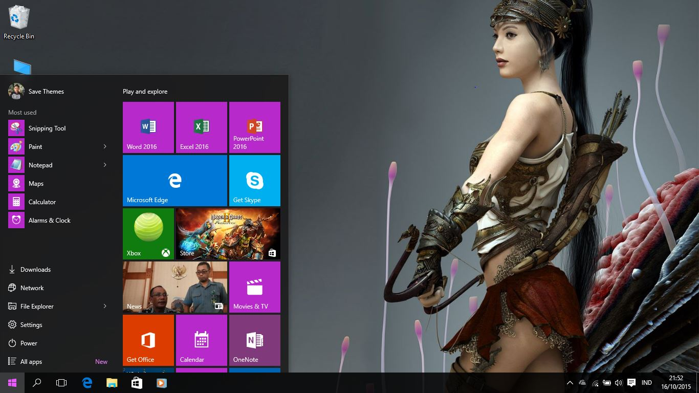 Fantasy Girls Theme For Windows 7 8 8 1 And 10 Save Themes