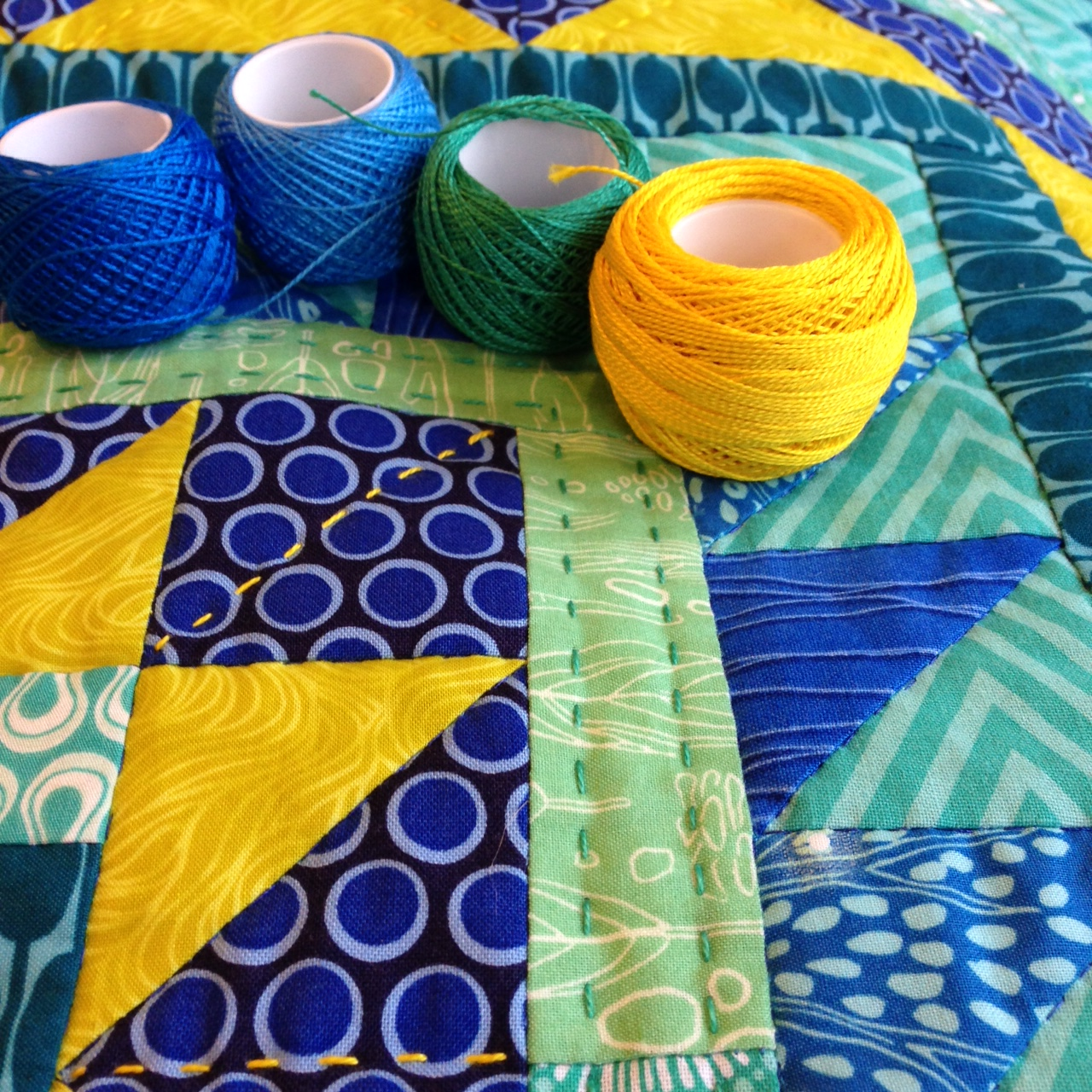 Wendy's quilts and more: Celebrate Hand Quilting