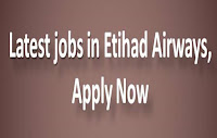 Latest jobs in Etihad Airways, Apply Now