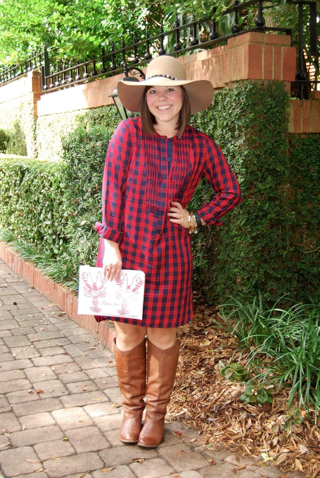 A Thanksgiving Look with Brooklyn Hat Company