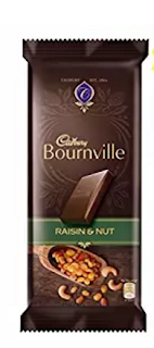 Cadbury Bournville Dark Chocolate Bar, Raisin and Nuts