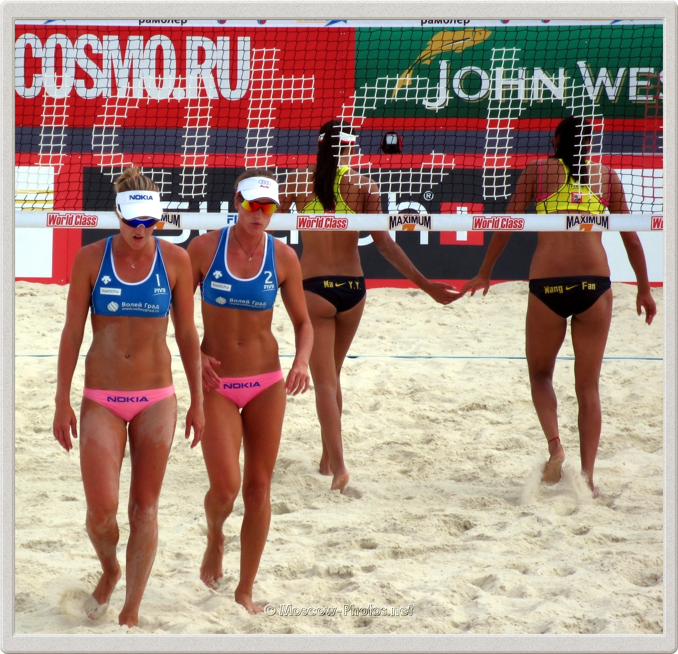 Finnish Beach Volleyball Team