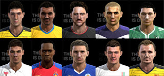 Facepack V6 Pes 2013 By Pablobyk