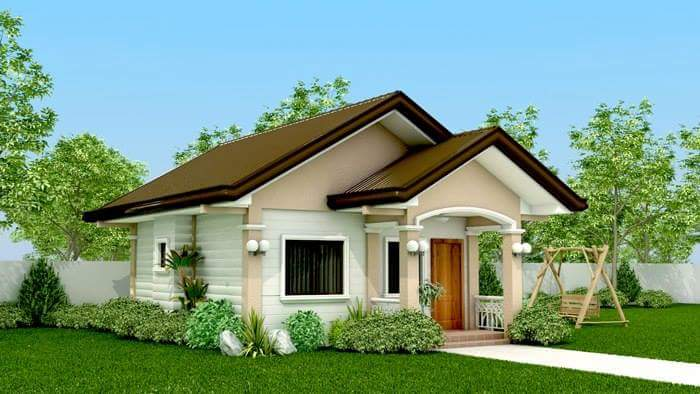 IN PHOTOS OFW Built His PK Dream House A Small And Yet - Simple 2 bedroom house design