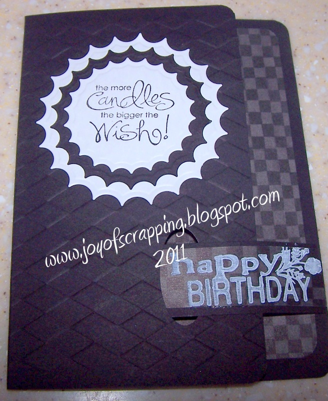 50th Birthday Cards Cricut: The Joy Of Scrapping: 50th Birthday Sucks Bouquet And Big