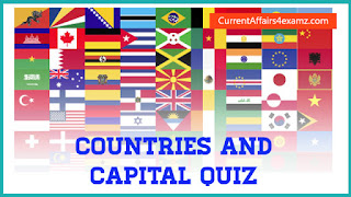 Countries and Capital Quiz