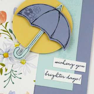 Stampin' Up! Last Chance 2018: Weather Together Brighter Days Umbrella Card ~ www.juliedavison.com