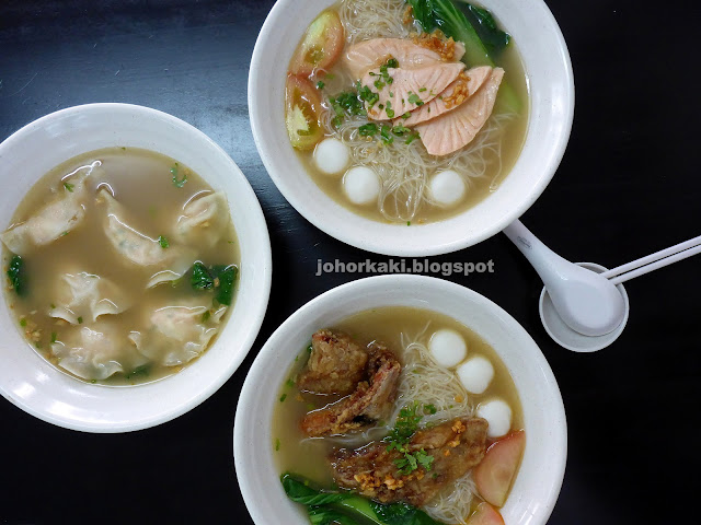 Chef-Ong-Salmon-Fish-Head-Soup-Sashimi-三文鱼头鱼片汤