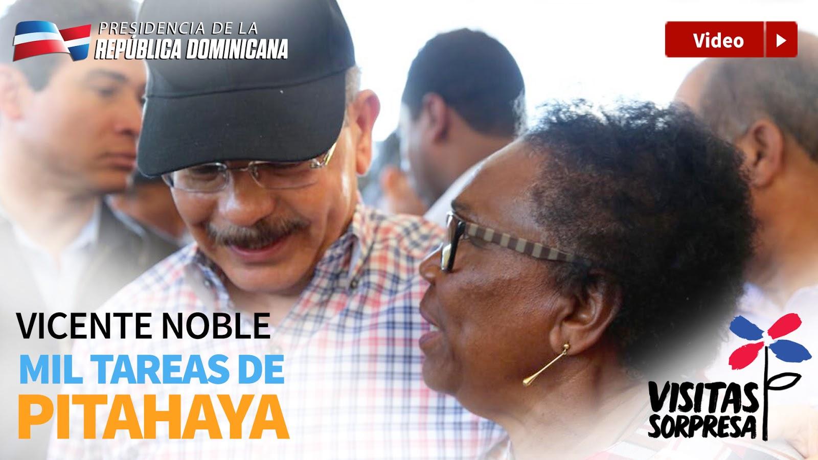 VIDEO: VS196. Danilo lleva apoyo productores pitahaya Vicente Noble. Garantiza convertirlos en clase media