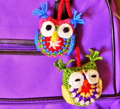 Two-sided scrap owls