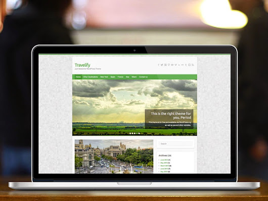 Travelify Free Responsive Wordpress Theme