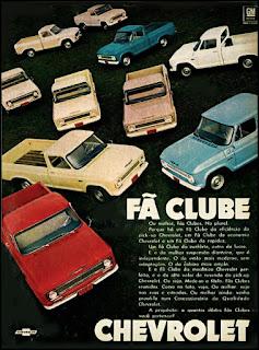 Propaganda  Pick-up Chevrolet - 1970, Chevrolet década de 70, anos 70, GM, Oswaldo Hernandez, carros antigos,