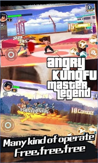 Games Angry KungFu : Master Legend Apk