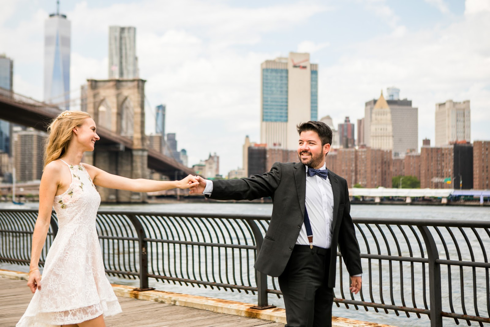 BROOKLYN BRIDGE WEDDING PHOTOGRAPHY
