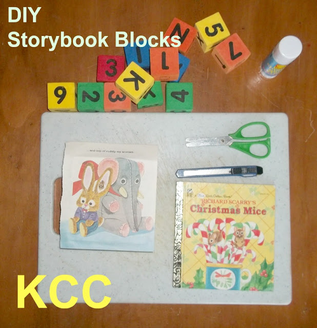 How to make a storybook block puzzle